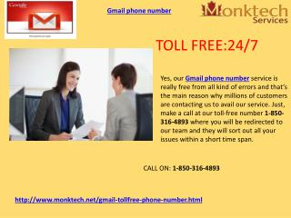 Is Gmail Phone Number 1-850-316-4893 an Effective and Efficient Remedy?