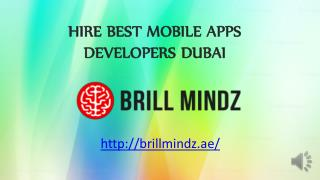 Hire best Mobile apps developers Dubai