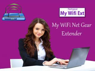 My WiFi Netgear Extender