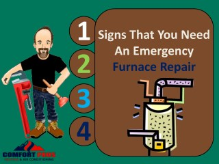 4 Signs That You Need An Emergency Furnace Repair