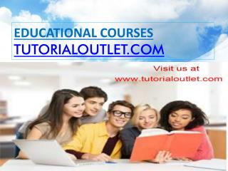Clarify the purpose of the needs assessment/tutorialoutlet