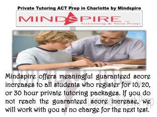 ACT Prep Guaranteed Increases in Charlotte
