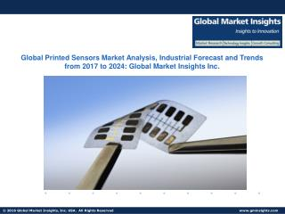 Global Printed Sensors Market Analysis, Industrial Forecast and Trends from 2017 to 2024