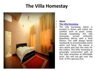 The Villa Homestay in Ajmer