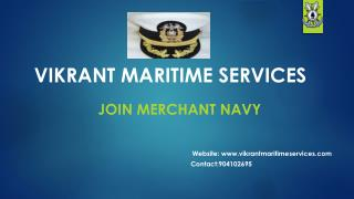 Join Merchant Navy after 10th, 12th