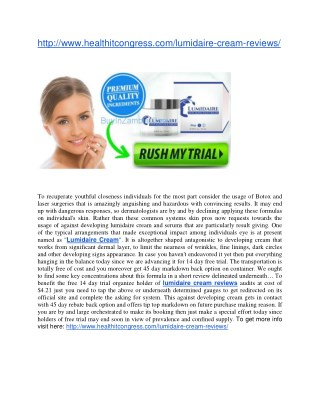 http://www.healthitcongress.com/lumidaire-cream-reviews/