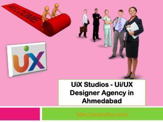 Ui/UX Design Services in Ahmedabad | UiX Studios