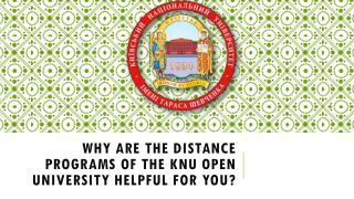 Why are The Distance Programs of The KNU Open University Helpful for You