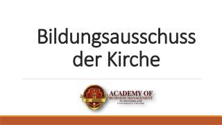Bildungsausschuss der Kirche