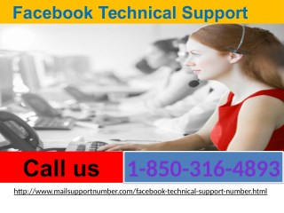 How Would I Deal My Problems Through 1-850-316-4893 Facebook Technical Support?