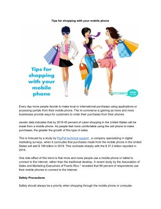 This study by Paypal technical support helps to let you do m-commerce