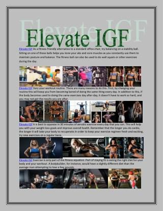 http://www.realperfecthealth.com/elevate-igf/