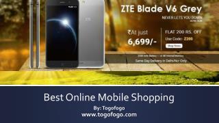 Best Online Mobile Shopping