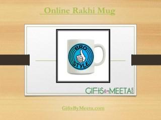 Buy Online Rakhi Mugs