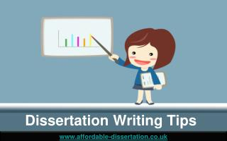 Free Dissertation Writing Tips