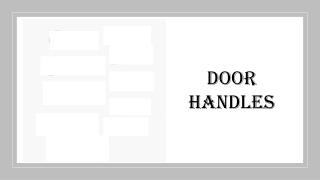 Door Handles and Fittings Suppliers in Dubai
