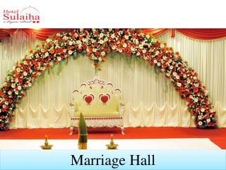 Marriage function halls in melmaruvathur
