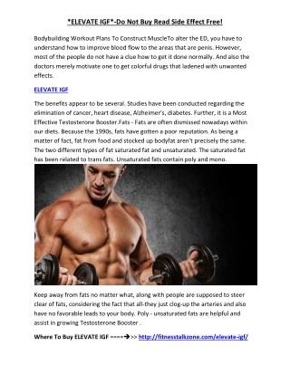 http://fitnesstalkzone.com/elevate-igf/