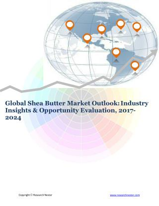 Global Shea Butter Market (2017-2024)- Research Nester