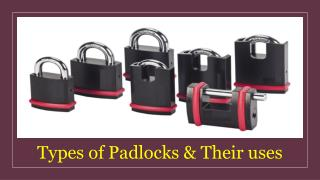 Padlock Suppliers in UAE