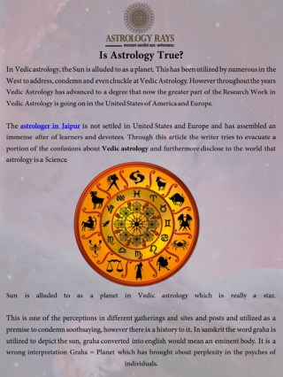 Is Astrology True
