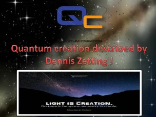 Simplification of god's creation of the world by Dennis Zetting