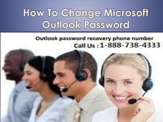 Outlook  1-888-738-4333  Password Reset  Number