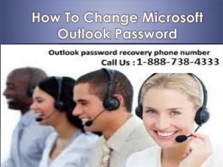 Outlook  1-888-738-4333  Password Reset  Number