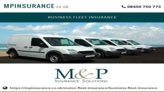 Business Fleet Insurance