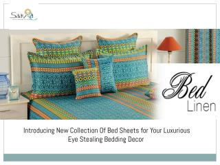 Make Your Bedding Astounding with Saavra's Stunning Bed Sheets