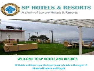 Book Cheap Hotels Online | SP Hotels and Resorts