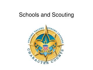 Schools and Scouting
