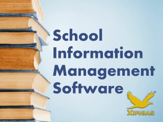 School Information Management Software