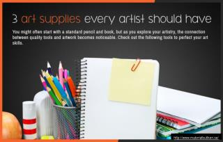 Essentials for every artist