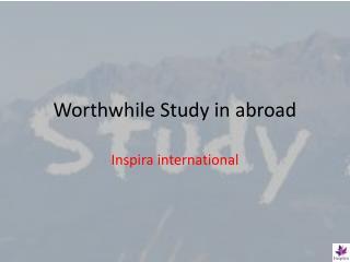 Worthwhile Education