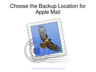 Choose Apple Mail Backup Location with Mail Backup X
