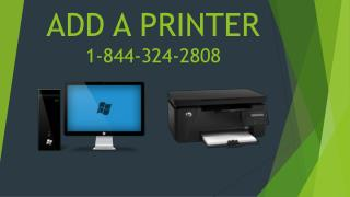 Fix Printer Problems  1-844-324-2808