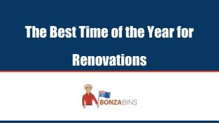 The Best Time of Year for DIY - Bonza Bins
