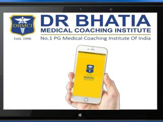 DBMCI is India's No.1 and leading Pg coaching Institute