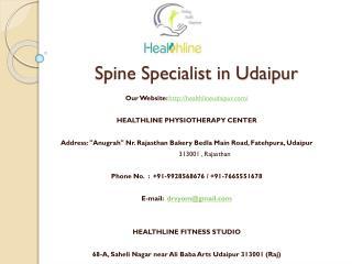 Spine Specialist in Udaipur
