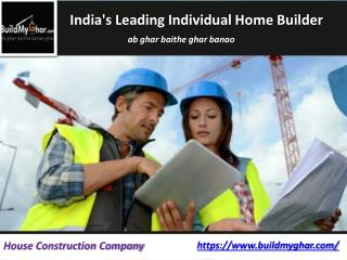 Top Individual House Building Solutions