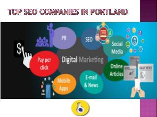 Top SEO Companies in Portland