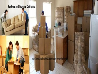 Packers and Movers  California