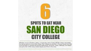 6 Spots to Eat Near San Diego City College