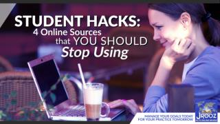 Student Hacks: 4 Online Sources that you Should Stop Using