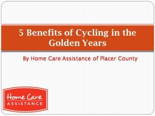 5 benefits of cycling in the golden years