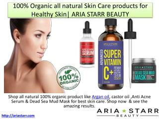 Natural Anti Acne Serum,Vitamin C Serum & Dead Sea Mud Mask for Clear Complexion