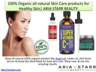 Natural Anti Acne Serum,Vitamin C Serum & Dead Sea Mud Mask for Clear Complexion