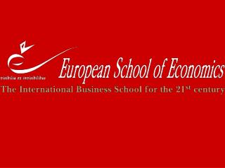 The European School of Economics (ESE) is a Private Business School offering Bachelor's Degree, Masters MSc or MBA, shor