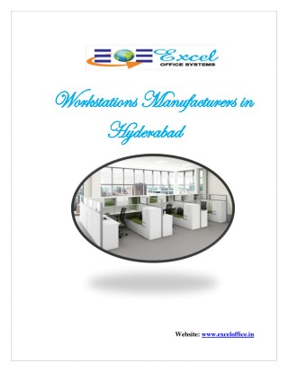 Workstations Manufacturers in Hyderabad,